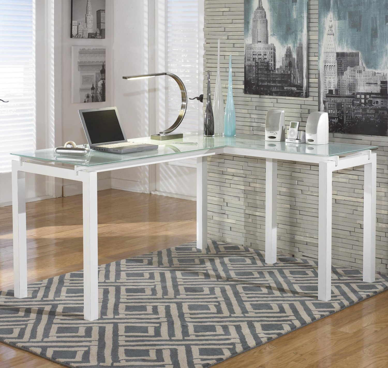 Luxury Signature Design Home Office Desk