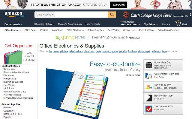 amazon office supplies, cheap