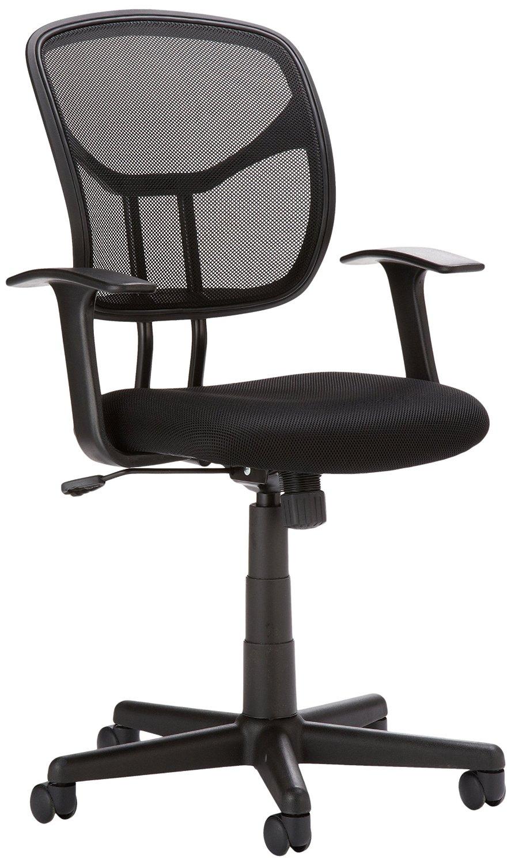 Basic mid-back mesh swivel office chair