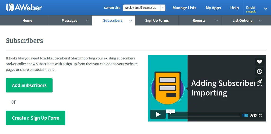 Add and manage new newsletter subscribers
