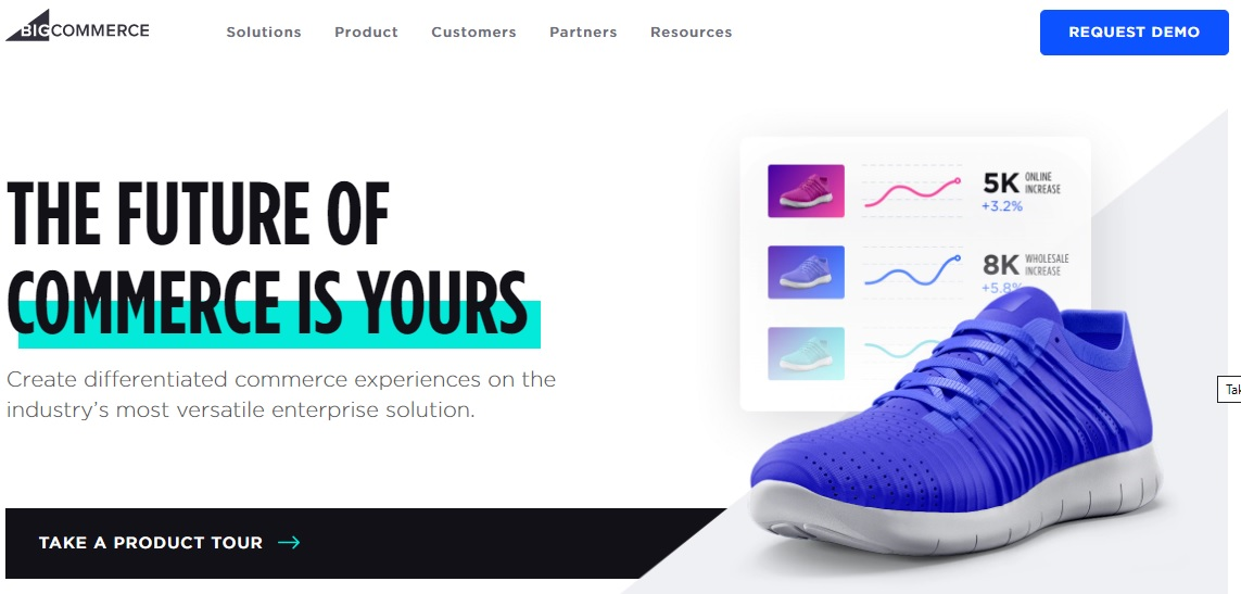 Create an eCommerce store with BigCommerce