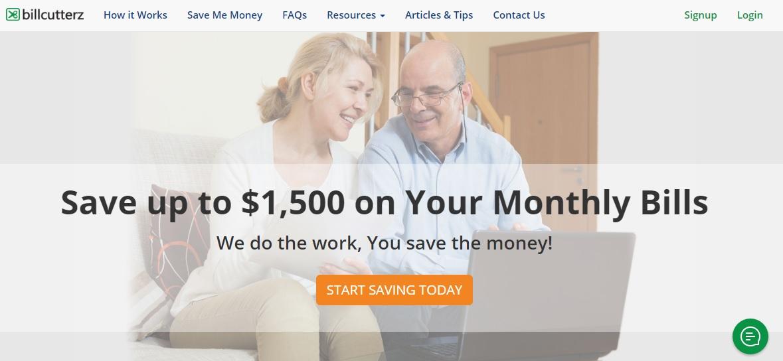 Start a save money on bills service