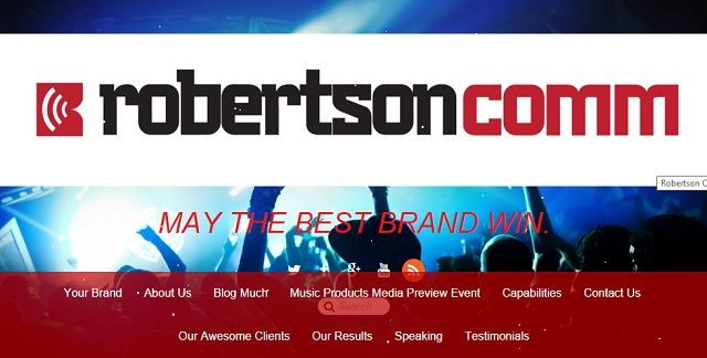 Robertson Comm secured two new clients from a single post
