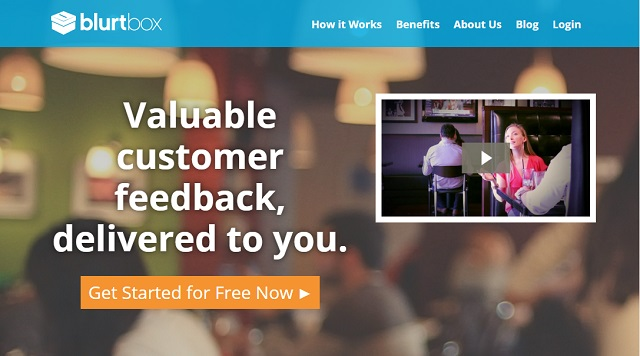 Valuable customer feedback with Blurtbox