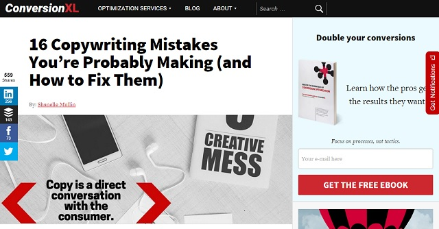 Excellent tips for improving content & copywriting