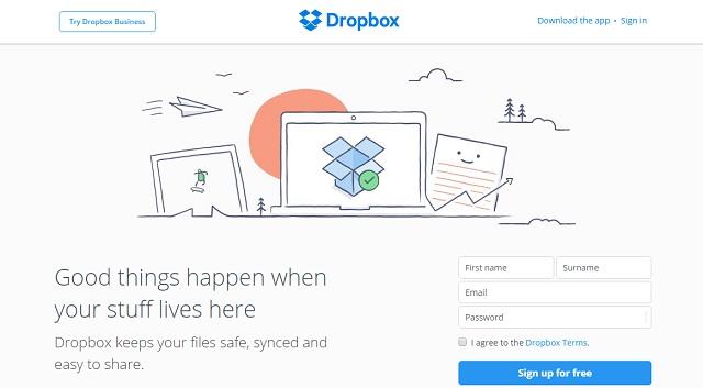 DropBox provides cloud based file sharing