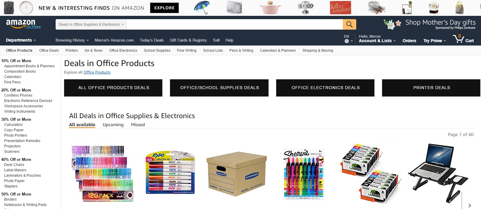 Amazon Office Supplies