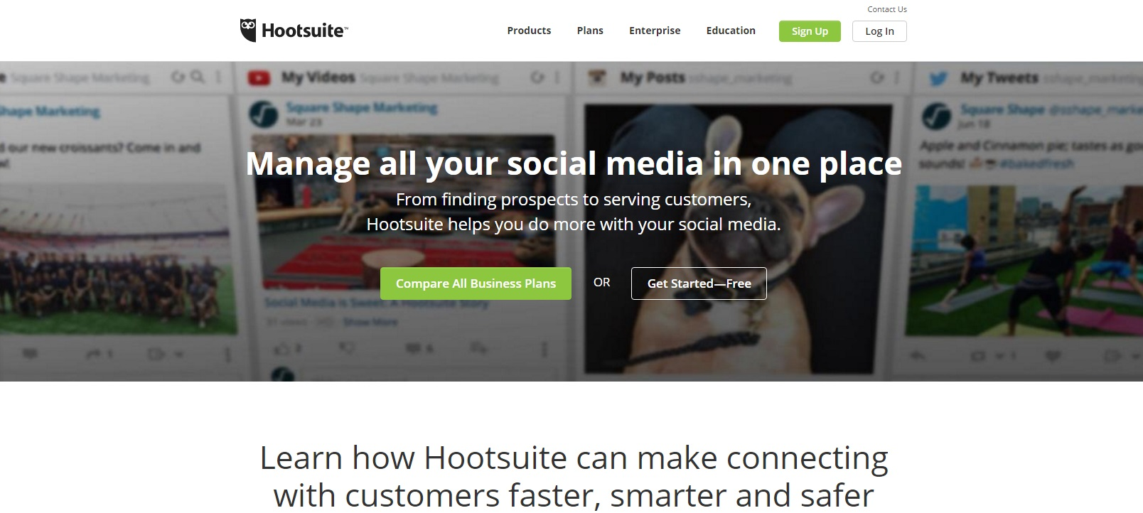 HootSuite Social Media Marketing Tools