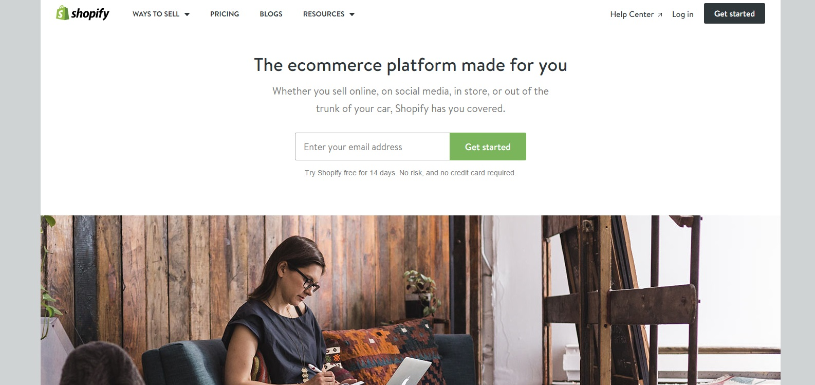 Shopify eCommerce Website Builder