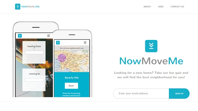 NowMoveMe helps you find a home that matches your personality