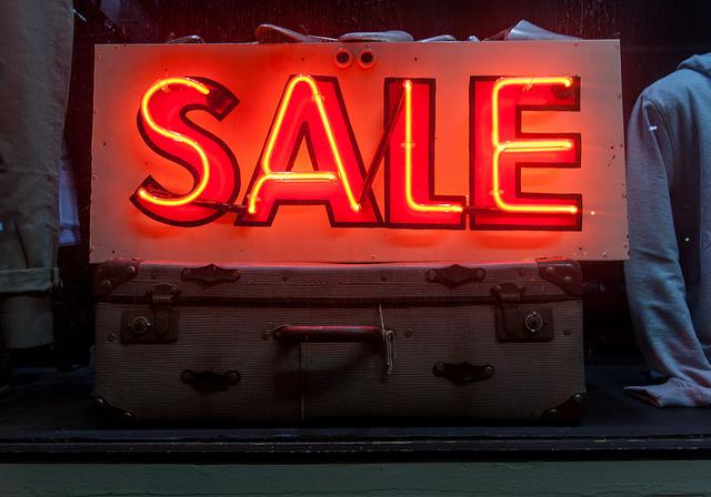 Offer fantastic sales online