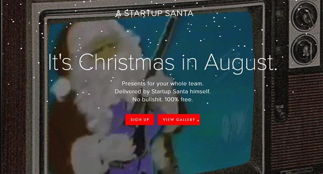 Startup Santa by Baron Fig