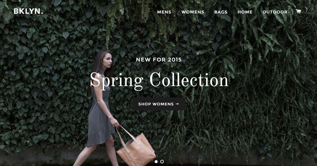 Brooklyn is an elegant eCommerce theme for Shopify