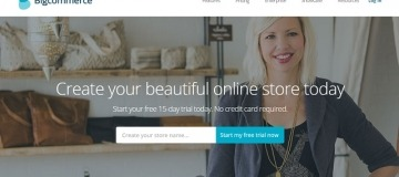Bigcommerce shopping cart software