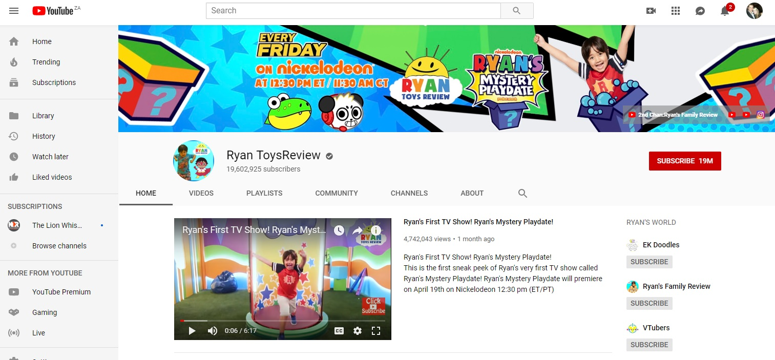 Ryan ToysReview earned and estimates $22 million in 2018