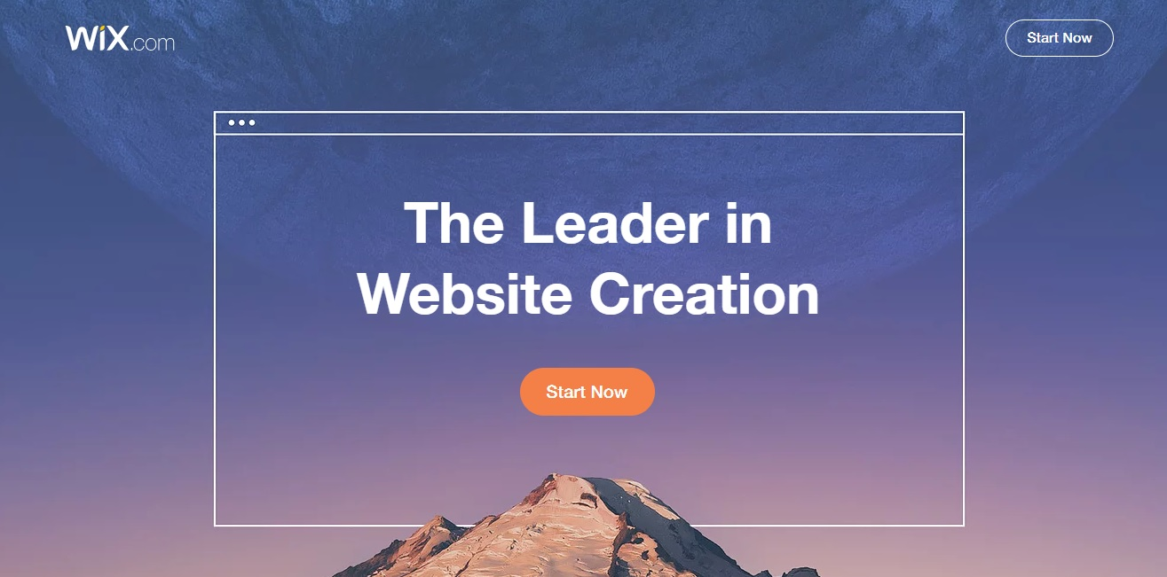 Create a free website with Wix